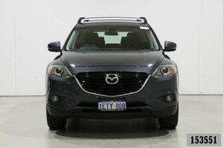 2015 Mazda CX-9 MY14 Classic (FWD) Grey 6 Speed Auto Activematic Wagon.