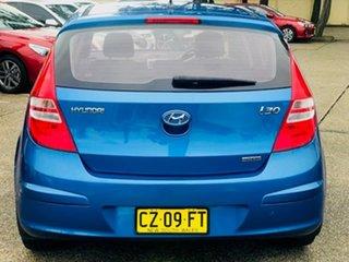 2011 Hyundai i30 FD MY11 SLX Blue 5 Speed Manual Hatchback