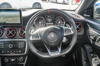 2015 Mercedes-Benz CLA-Class C117 805+055MY CLA45 AMG SPEEDSHIFT DCT 4MATIC Polar Silv 7 Speed