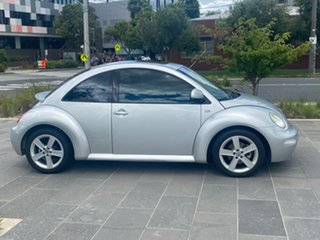 2000 Volkswagen Beetle 9C Coupe Silver 4 Speed Automatic Liftback