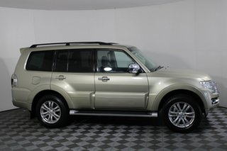 2014 Mitsubishi Pajero NX MY15 GLX Gold 5 Speed Sports Automatic Wagon.