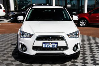 2015 Mitsubishi ASX XB MY15 LS 2WD White 6 Speed Constant Variable Wagon