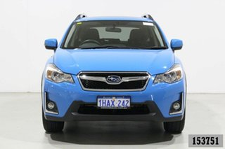 2016 Subaru XV MY16 2.0I-S Blue Continuous Variable Wagon.