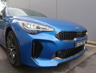 2020 Kia Stinger CK MY21 GT Fastback Blue 8 Speed Sports Automatic Sedan