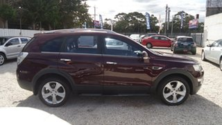 2011 Holden Captiva CG Series II 7 AWD LX Red 6 Speed Sports Automatic Wagon