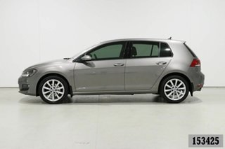 2015 Volkswagen Golf AU MY16 110 TSI Highline Grey 7 Speed Auto Direct Shift Hatchback
