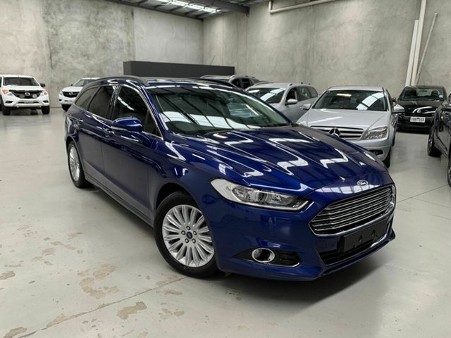 Used Ford Mondeo MD Trend Coburg North, 2016 Ford Mondeo MD Trend Blue 6 Speed Sports Automatic Dual Clutch Wagon