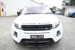 2015 Land Rover Range Rover Evoque L538 MY15 Dynamic White 9 Speed Sports Automatic Wagon.