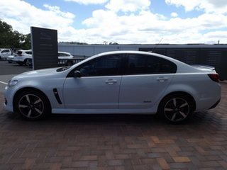 2016 Holden Commodore VF II MY16 SV6 Black White 6 Speed Sports Automatic Sedan