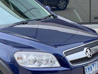 2010 Holden Captiva CG MY10 SX AWD Blue 5 Speed Sports Automatic Wagon