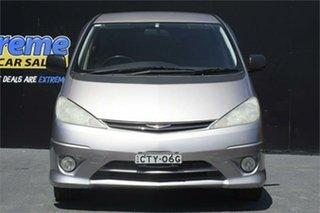 2003 Toyota Estima ACR30 Aeras Silver 4 Speed Automatic Wagon.