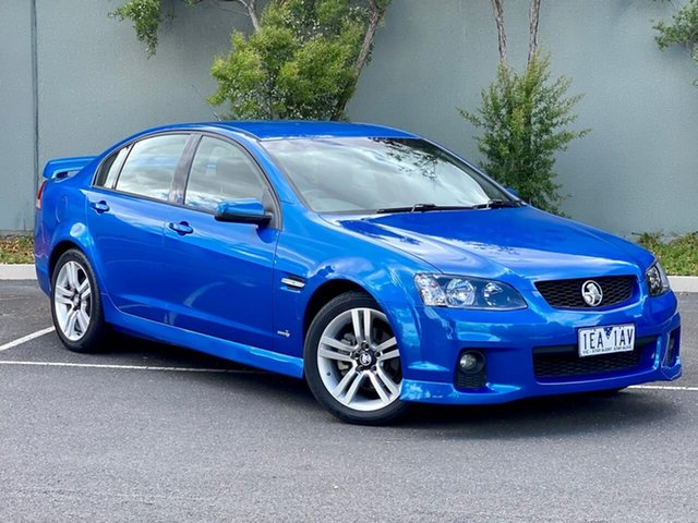 Used Holden Commodore VE II SV6 Templestowe, 2010 Holden Commodore VE II SV6 Blue 6 Speed Sports Automatic Sedan