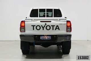 2018 Toyota Hilux GUN125R MY19 Workmate (4x4) White 6 Speed Automatic Double Cab Pick Up