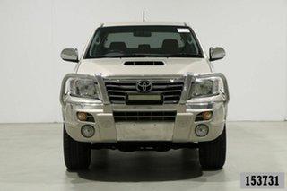 2013 Toyota Hilux KUN26R MY12 SR5 (4x4) Champagne 4 Speed Automatic Dual Cab Pick-up.