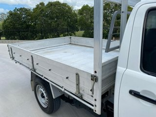 2010 Toyota Hilux TGN16R MY10 Workmate 4x2 White 4 Speed Automatic Cab Chassis