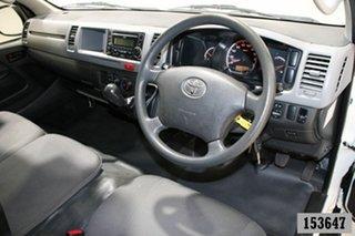 2013 Toyota HiAce KDH221R MY12 Upgrade SLWB White 5 Speed Manual Van