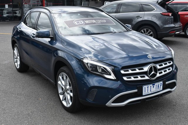 Used Mercedes-Benz GLA-Class X156 809+059MY GLA180 DCT Wantirna South, 2019 Mercedes-Benz GLA-Class X156 809+059MY GLA180 DCT Blue 7 Speed Sports Automatic Dual Clutch