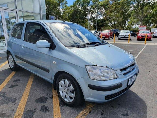 Used Hyundai Getz TB MY04 XL Epsom, 2004 Hyundai Getz TB MY04 XL Blue 4 Speed Automatic Hatchback