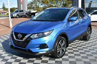 2019 Nissan Qashqai J11 Series 2 ST-L X-tronic Blue 1 Speed Constant Variable Wagon