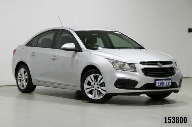 Used Holden Cruze JH MY15 Equipe Bentley, 2015 Holden Cruze JH MY15 Equipe Silver 6 Speed Automatic Sedan