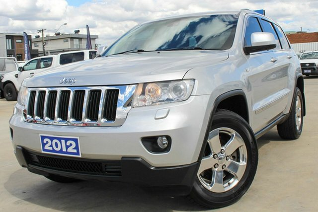 Used Jeep Grand Cherokee WK MY2012 Laredo Coburg North, 2012 Jeep Grand Cherokee WK MY2012 Laredo Silver 5 Speed Sports Automatic Wagon