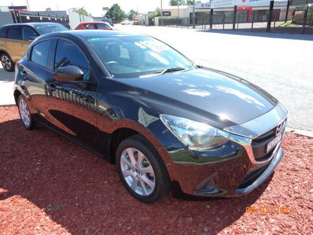 Used Mazda 2 DJ Neo Wagga Wagga, 2015 Mazda 2 DJ Neo Black Metallic 6 Speed Automatic Hatchback