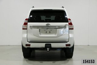 2015 Toyota Landcruiser Prado KDJ150R MY15 Altitude (4x4) Pearl White 5 Speed Sequential Auto Wagon