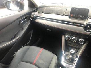 2016 Mazda 2 DJ2HA6 Genki SKYACTIV-MT White 6 Speed Manual Hatchback