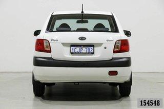2006 Kia Rio JB EX White 5 Speed Manual Sedan
