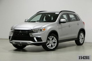2019 Mitsubishi ASX XC MY19 ES (2WD) Silver Continuous Variable Wagon.