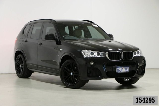 Used BMW X3 F25 MY17 xDrive20d Bentley, 2017 BMW X3 F25 MY17 xDrive20d Black 8 Speed Automatic Wagon