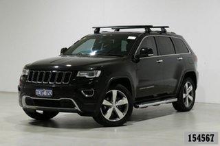 2015 Jeep Grand Cherokee WK MY15 Limited (4x4) Black 8 Speed Automatic Wagon.