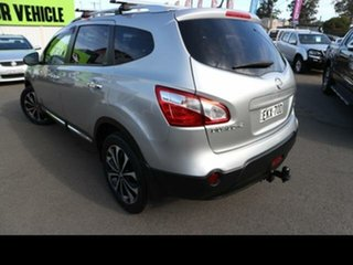 2013 Nissan Dualis J10 Series 3 +2 TI-L (4x4) Silver 6 Speed CVT Auto Sequential Wagon.