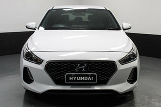 2017 Hyundai i30 PD MY18 SR D-CT White 7 Speed Sports Automatic Dual Clutch Hatchback.