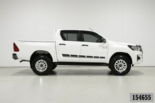 2018 Toyota Hilux GUN126R MY19 SR (4x4) White 6 Speed Automatic Double Cab Pick Up