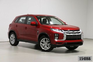 2019 Mitsubishi ASX XD MY20 ES (2WD) Red Continuous Variable Wagon.