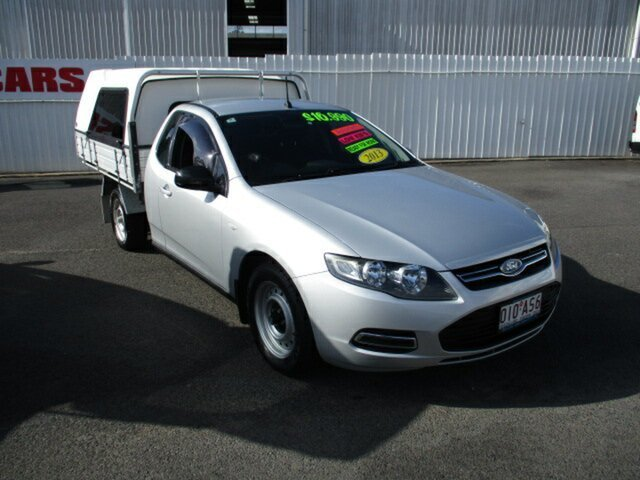 Used Ford Falcon Woodridge, 2013 Ford Falcon Silver 4 Speed Automatic Utility
