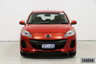 2012 Mazda 3 BL 11 Upgrade Neo Red 5 Speed Automatic Hatchback.