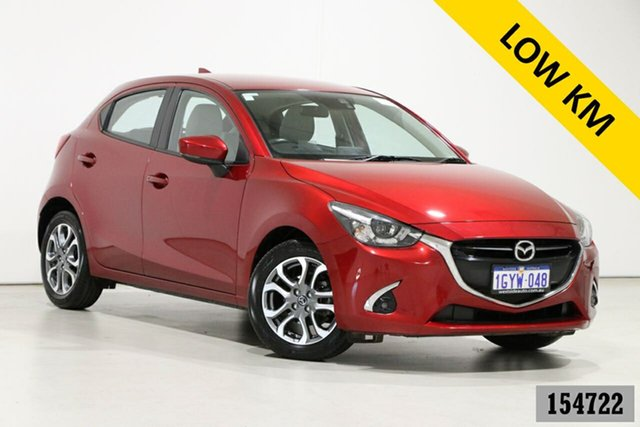 Used Mazda 2 DJ GT (5Yr) Bentley, 2019 Mazda 2 DJ GT (5Yr) Soul Red 6 Speed Automatic Hatchback