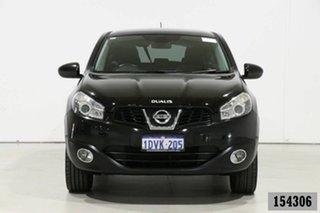 2012 Nissan Dualis J10 Series II TI (4x2) Black 6 Speed CVT Auto Sequential Wagon.