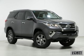 2015 Toyota Fortuner GUN156R GXL Grey 6 Speed Automatic Wagon.
