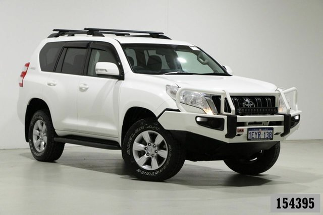 Used Toyota Landcruiser Prado GDJ150R MY16 GXL (4x4) Bentley, 2015 Toyota Landcruiser Prado GDJ150R MY16 GXL (4x4) White 6 Speed Automatic Wagon