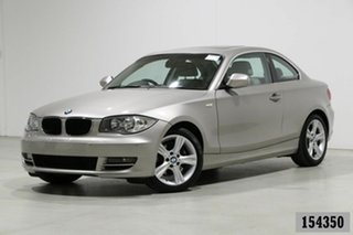 2010 BMW 125i E82 MY09 Champagne 6 Speed Automatic Coupe.