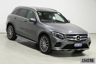 2017 Mercedes-Benz GLC250 253 MY17 Grey 9 Speed Automatic Wagon