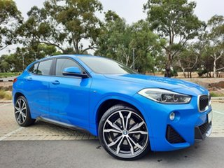 2017 BMW X2 F39 sDrive20i Coupe DCT Steptronic M Sport Blue 7 Speed Sports Automatic Dual Clutch.