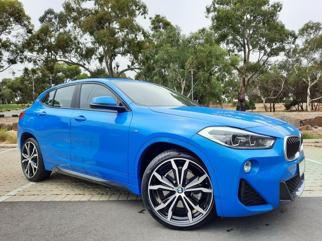 Used BMW X2 F39 sDrive20i Coupe DCT Steptronic M Sport Adelaide, 2017 BMW X2 F39 sDrive20i Coupe DCT Steptronic M Sport Blue 7 Speed Sports Automatic Dual Clutch