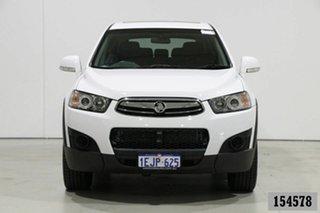 2013 Holden Captiva CG MY12 7 SX (FWD) White 6 Speed Automatic Wagon.