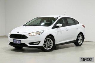 2016 Ford Focus LZ Trend White 6 Speed Automatic Sedan.