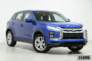 2019 Mitsubishi ASX XD MY20 ES (2WD) Blue Continuous Variable Wagon.