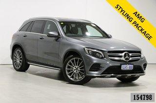 2017 Mercedes-Benz GLC250 253 MY17 Grey 9 Speed Automatic Wagon.